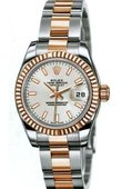 Rolex Datejust Ladies 179161 sio 26mm Steel and Everose Gold