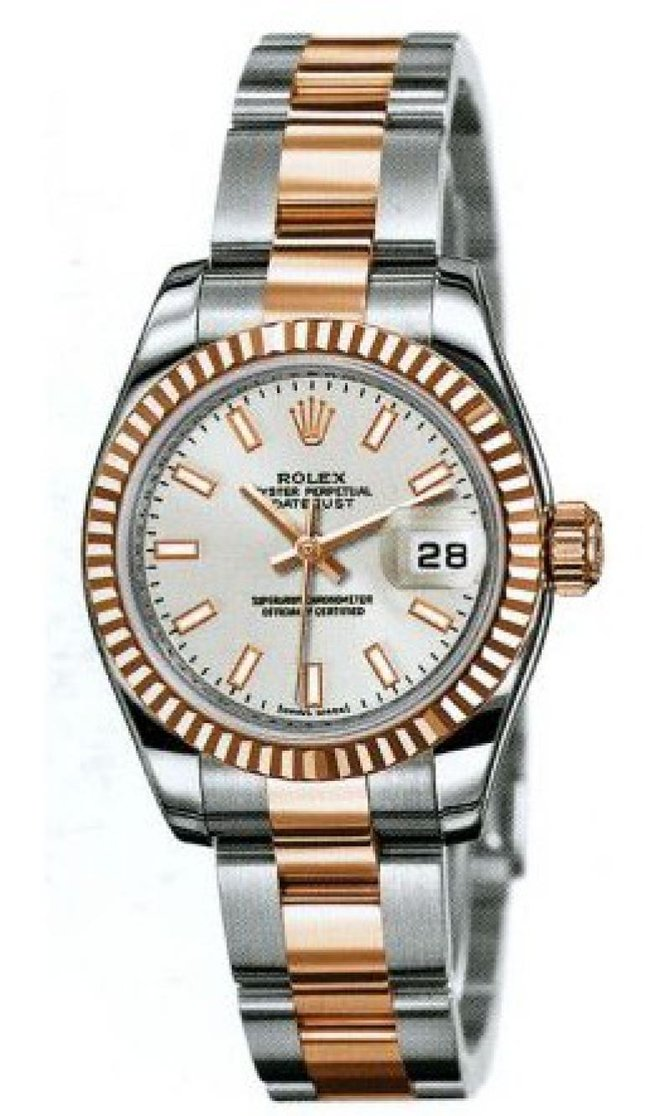 Rolex 179161 sio Datejust Ladies 26mm Steel and Everose Gold - фото 1