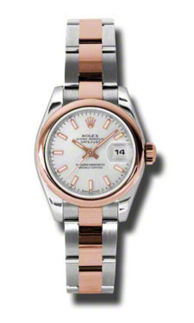 Rolex 179161 sio Datejust Ladies 26mm Steel and Everose Gold - фото 2