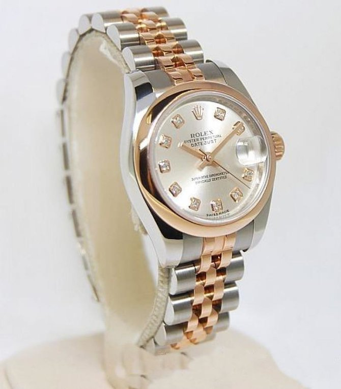 Rolex 179161 sdj Datejust Ladies 26mm Steel and Everose Gold - фото 2
