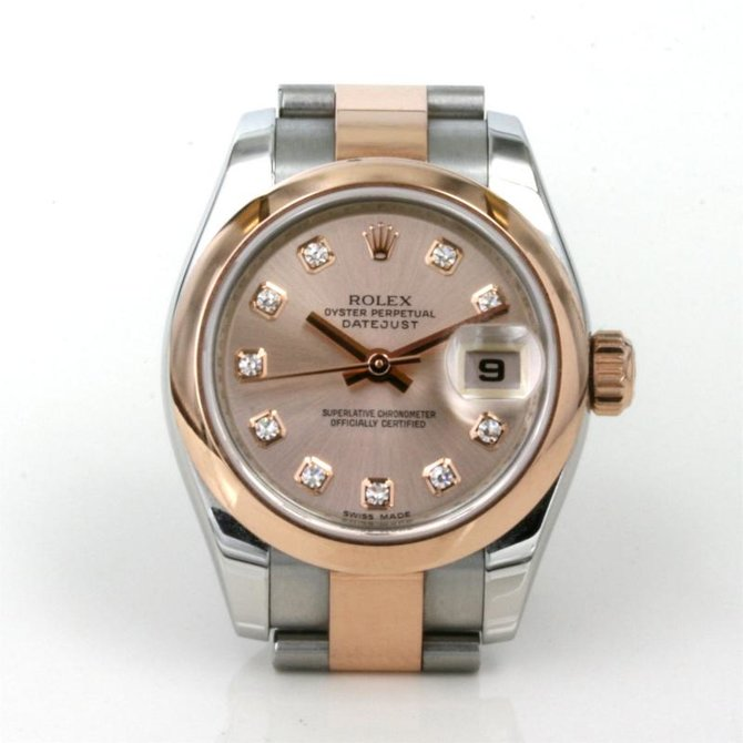 Rolex 179161 sdj Datejust Ladies 26mm Steel and Everose Gold - фото 3