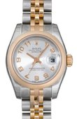 Rolex Datejust Ladies 179161 scaj 26mm Steel and Everose Gold