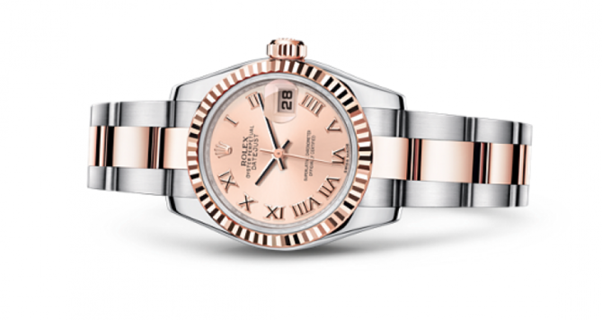 Rolex 179161 pro Datejust Ladies 26mm Steel and Everose Gold - фото 2