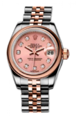 Rolex Datejust Ladies 179161 Pink D 26mm Steel and Everose Gold