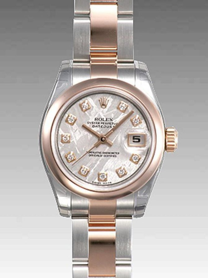 Rolex 179161 mdo Datejust Ladies 26mm Steel and Everose Gold - фото 2