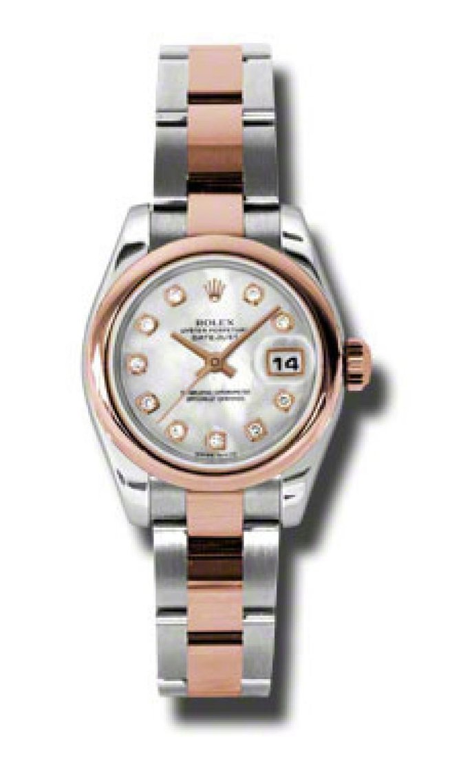 Rolex 179161 mdo Datejust Ladies 26mm Steel and Everose Gold - фото 1