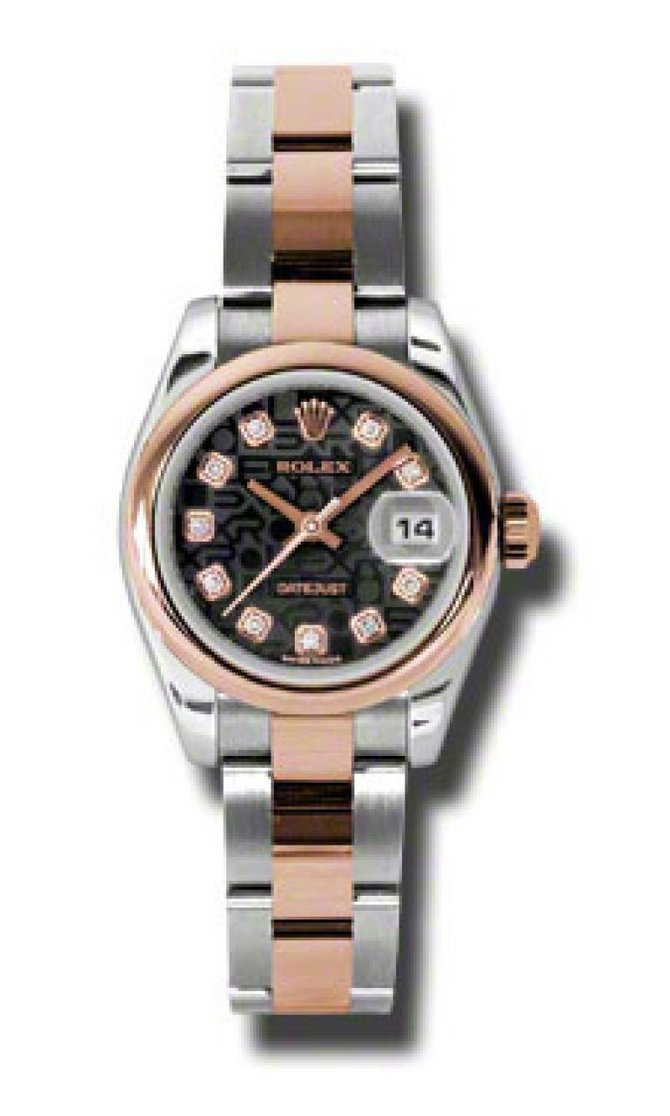 Rolex 179161 bkjdo Datejust Ladies 26mm Steel and Everose Gold - фото 1