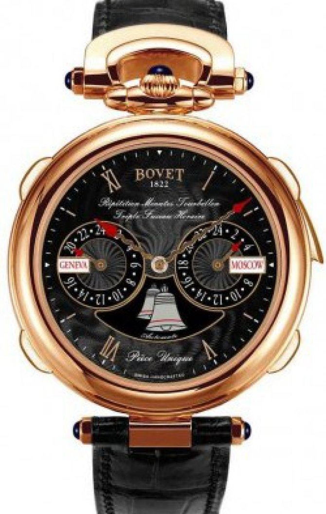 Bovet AR3F001 Grandes complication Fleurier 44 Minute Repeater Tourbillon Triple Time Zone Automaton