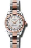 Rolex Datejust Ladies 179171 sro 26mm Steel and Everose Gold