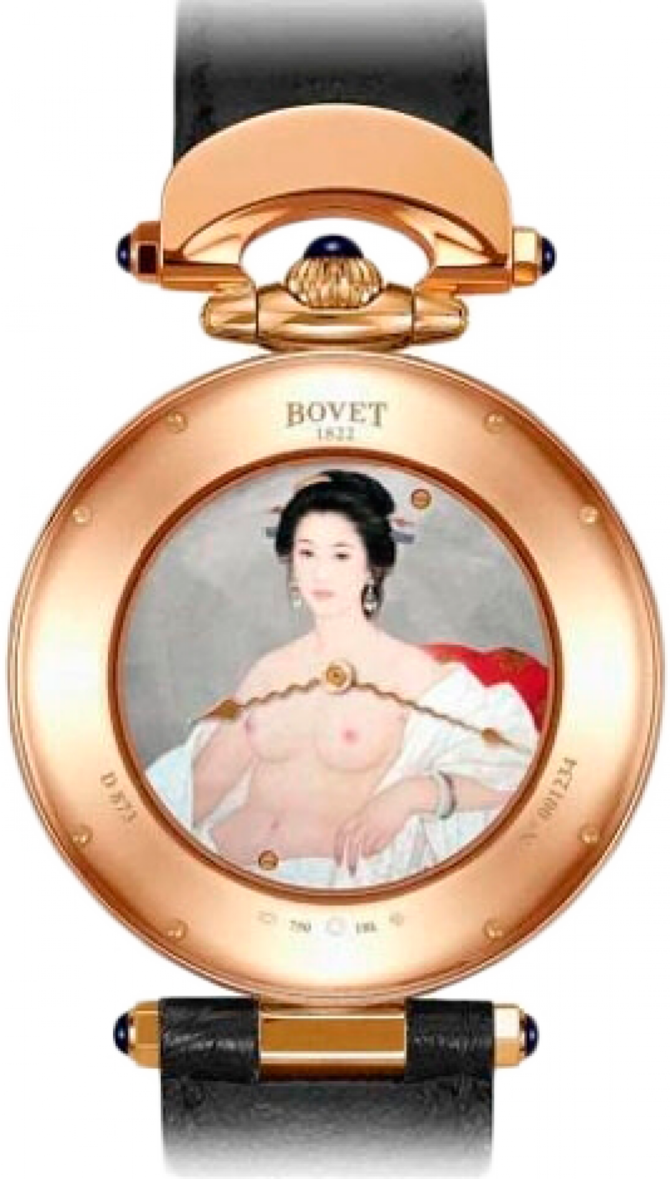 Bovet Tourbillon  Geisha The Art of Bovet Art