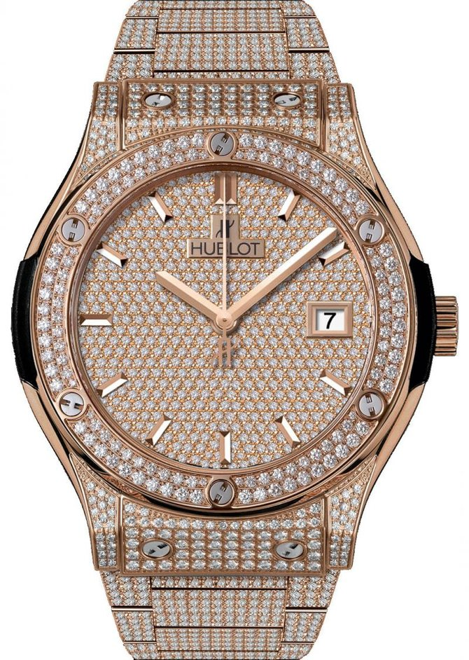 Hublot 542.OX.9010.OX.3704 Classic Fusion King Gold - фото 1