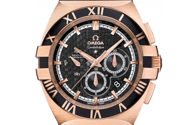 Omega 121.62.41.50.01.001 Constellation Double eagle co-axial chronograph - фото 3