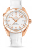 Omega Seamaster Ladies 232.63.42.21.04.001 Planet Ocean 600M Ceragold White Planet St. Moritz