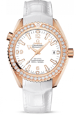 Omega Seamaster Ladies 232.58.42.21.04.001 Planet ocean GMT 600m