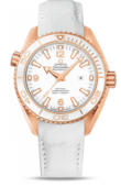 Omega Seamaster Ladies 232.63.38.20.04.001 Planet Ocean 600M Ceragold White Planet St. Moritz