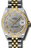 Rolex Datejust 178313 grj 31mm Steel and Yellow Gold