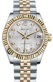 Rolex Datejust 178313 sjdj 31mm Steel and Yellow Gold