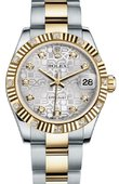 Rolex Datejust 178313 sjdo 31mm Steel and Yellow Gold