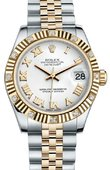 Rolex Datejust 178313 wrj 31mm Steel and Yellow Gold