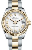 Rolex Datejust 178313 wro 31mm Steel and Yellow Gold