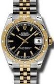 Rolex Datejust 178343 bkij 31mm Steel and Yellow Gold
