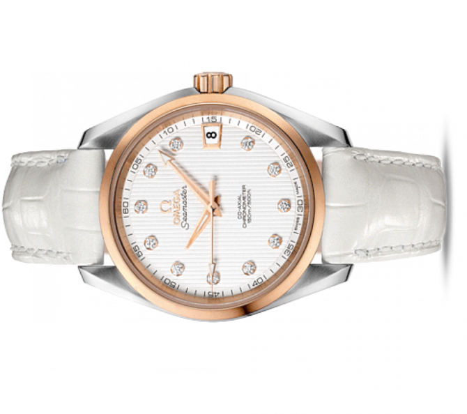 Omega 231.23.39.21.52.001 Seamaster Ladies Aqua terra 150m co-axial - фото 2