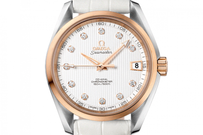 Omega 231.23.39.21.52.001 Seamaster Ladies Aqua terra 150m co-axial - фото 3